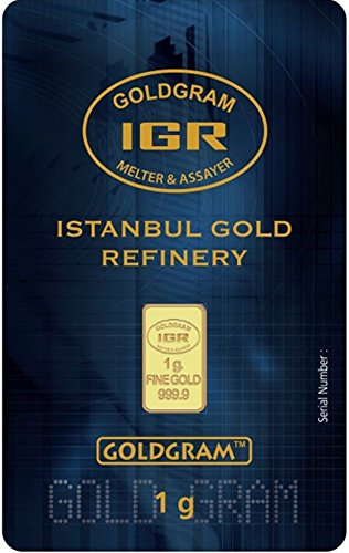 1 Gram Istanbul Refinery Gold In Assay