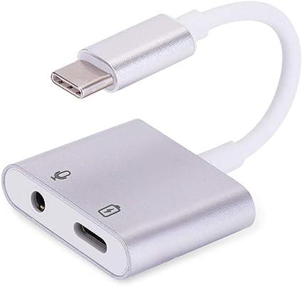 Adattatore cuffie USB C con presa di ricarica, 2 in 1, USB