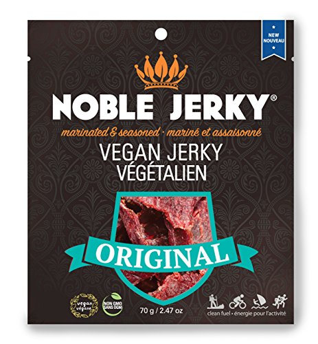 NOBLE Vegan Jerky - Tempeh - non-GMO - 2.47 oz (Original)