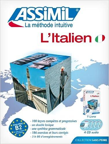 Amazon Com Assimil Pack L Italien Livre Cd Audio X4
