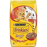 Purina Ração Friskies Delícias da Fazenda para Gatos Adultos Sabor Frango, 3kg