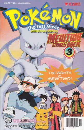 Pokemon The First Movie MewTwo Strikes Back 3 (Mewtwo Strikes Back)