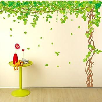 Amazon.com: SWORNA Nature Series Large Tree with Birds Kids Nursery ...