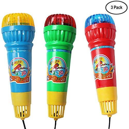 Mars wings Mic Echo Microphone Toy for Kids Toddlers Children | Festivals | Graduations | Holidays | Birthday Parties| Pretend Toys-Echo -