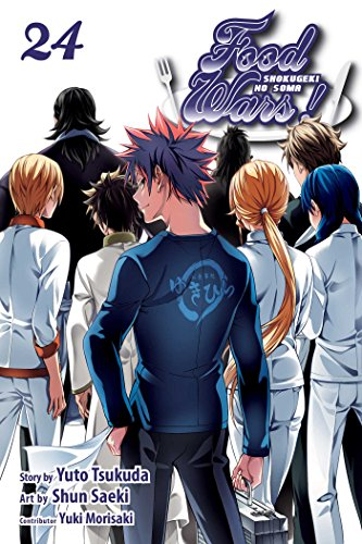 Food Wars!: Shokugeki no Soma, Vol. 24