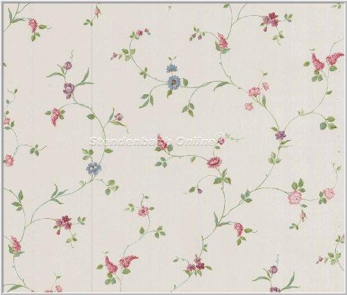 Tapeten schlafzimmer landhaus  Tapete Cheeky Monkey Landhaus Floral Blumen: Amazon.de: Baumarkt
