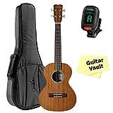Cordoba 20TM Tenor Ukulele guitarVault Package with Cordoba Deluxe Gig Bag and Tuner