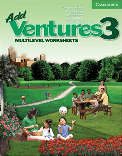 Add Ventures 3 - Multilevel Worksheets: Gretchen Bitterlin, Dennis ...