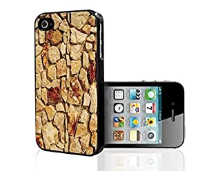 Beautiful Tan,and Creme Rock Wall Hard Snap on Phone Case (Samsung Galaxy S5 I9600/G9006/G9008)