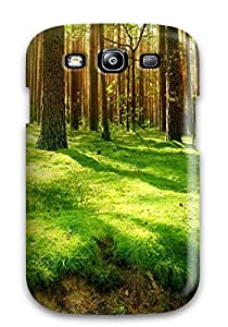 New Fashionable ZippyDoritEduard XkHBVyA479GbGho Cover Case Specially Made For Galaxy S3(brown Trees)