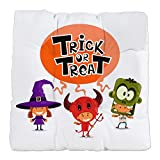 Tufted Chair Cushion Halloween Trick or Treat Kids