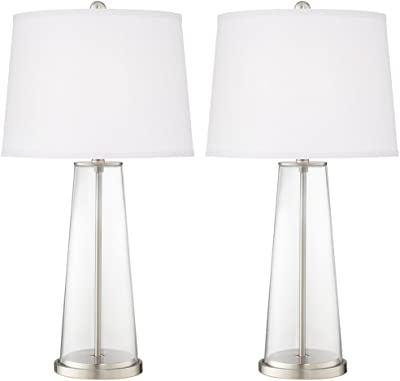 Fillable table lamp amazon clear fillable leo table lamp set of 2 aloadofball Images