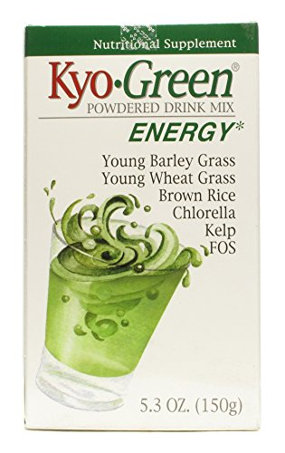 - Kyo-Green Powdered Drink Mix, 5.3 Ounce - 3 per case.
