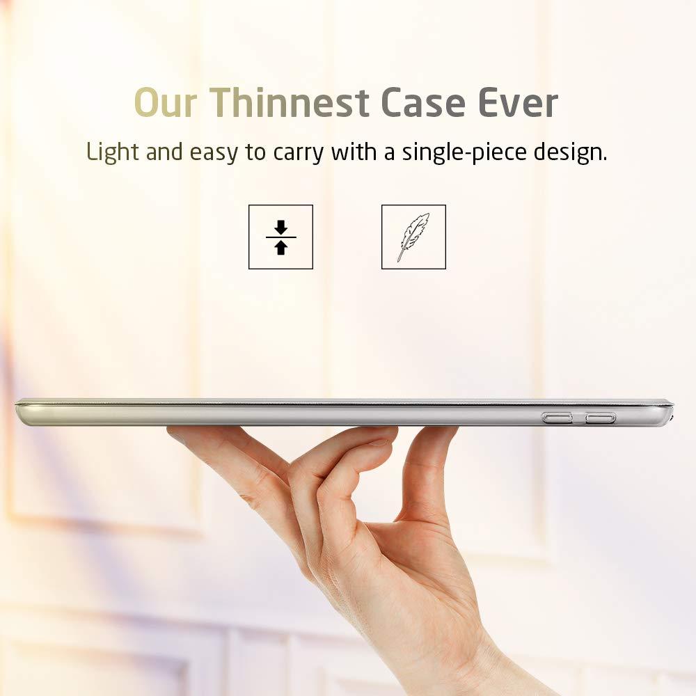 Trifold Smart Case ESR Case for iPad mini 5 2019 Black Hard Back Cover Smart Case Auto Sleep//Wake Lightweight Stand Case