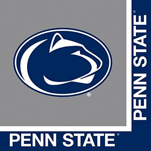 Penn State Nitty Lions Party Bundle Lunch Napkins (60) -