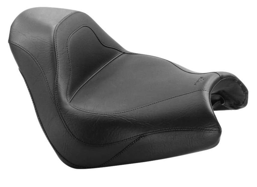 New Mustang Motorcycle Seat - 2005-2008 Honda VTX1800F (2-PC Sport Touring Solo Seat / Vintage)