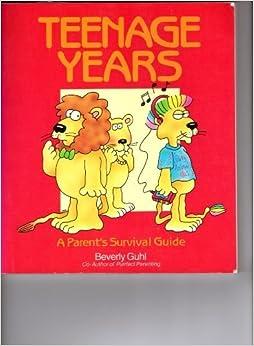 Book Teenage Years by Beverly Guhl (1989-11-04)
