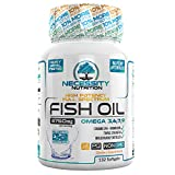 Fish Oil Omega 3 6 9 Fatty Acids Softgels Triple Strength 1200 mg + Epa Dha Supplements Capsules Joint Supplements for Men & Women 3750mg Heart Joint Skin Brain Function Health Non GMO 132 Pills Review