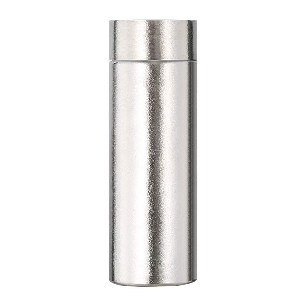 Sportflasche Isolier Becher Thermo Becher Travel Mug Kaffeebecher Wasserflasche Trinkbehälter Trinkflaschen-Ultraleichter High-End-Doppelbecher Aus Geschäft-Titan FENPING