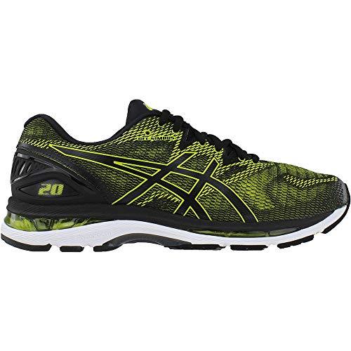 ASICS Men's Gel-Nimbus 20 Running Shoe, Sulphur Spring/Black/White, 6.5 Medium US by ASICS (Image #1)