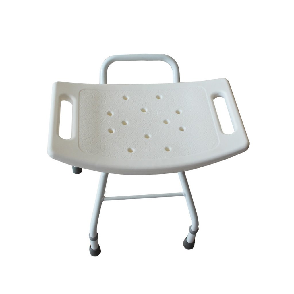 XUEPING バスシャワーベンチ折りたたみシャワー便は、高齢者の席を妊娠中の女性のバスルームは、4フィート伸縮シャワースツール白   B07D9F2VPC