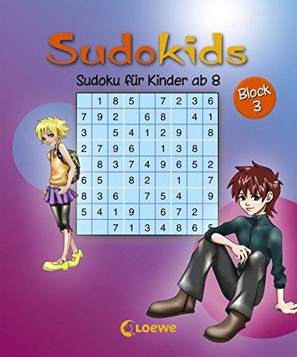 Sudoku für Kinder ab 8, Block 3 (Sudokids)