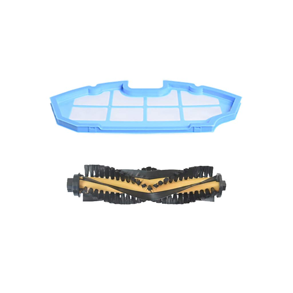 Mollikar Filter Side Brush,Replacement Parts for Filter for Ecovacs DEEBOT N79 N79S Robotic Vacuum Cleaner from Wife