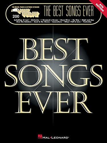 The Best Songs Ever: E-Z Play Today Volume 200