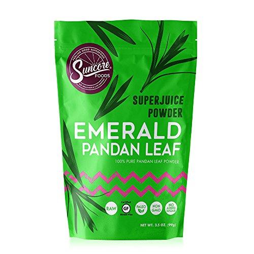 Suncore Foods - 100% Pure Pandan Leaf Natural Supercolor Powder by Suncore Foods