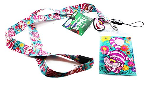 Cats Tickets (Disney 25322 Alice in Wonderland Cheshire Cat Lanyard, One Size, Multicolor)