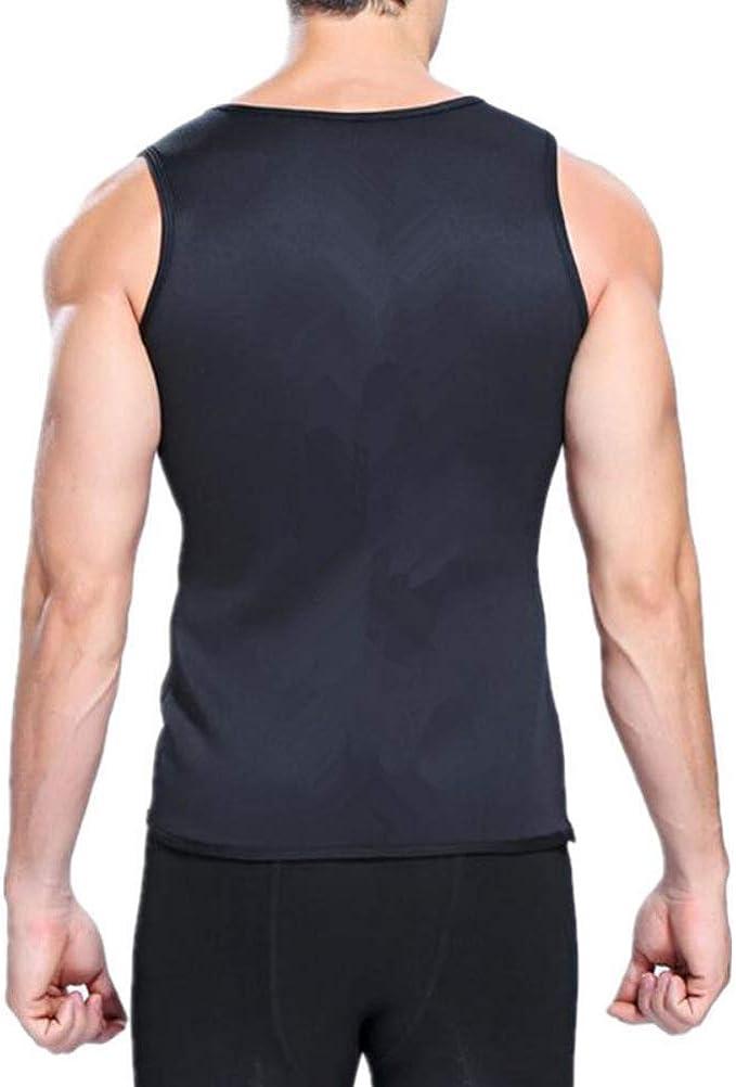 EFINNY Hombres Chalecos de Correr Chaleco de Neopreno para Perder Peso Secado r/ápido Body Shaper Cincher Cintur/ón Mens Body Shaper Entrenamiento Fitness Camisa