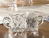 Fifth Avenue Crystal Muirfield Sugar/Tea Caddy Holder