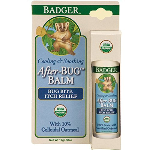 Badger After Bug Balm - Bite Relief Stick - 0.6oz - Stick Itch Relief