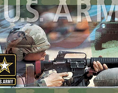 Army Border - US Army Border Mural-Style Border