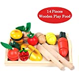 taglio di frutta finta vegetali alimentari di giocare cibo playset serie giocattolo realistico ragazza ragazzi