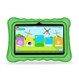 YUNTAB Q88H Kids Edition Tablet, 7 Display, 8 GB, WiFi, Kids Software Pre-Installed, Premium Parent Control, Educational Game Apps (GREEN)