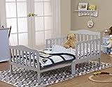 Orbelle 3-6T Toddler Bed, Grey