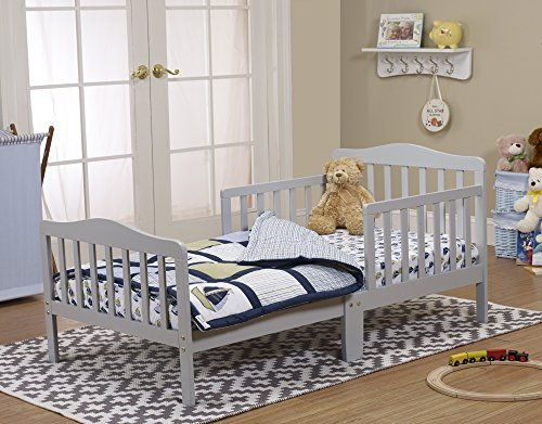 Orbelle 3-6T Toddler Bed, Grey by Orbelle