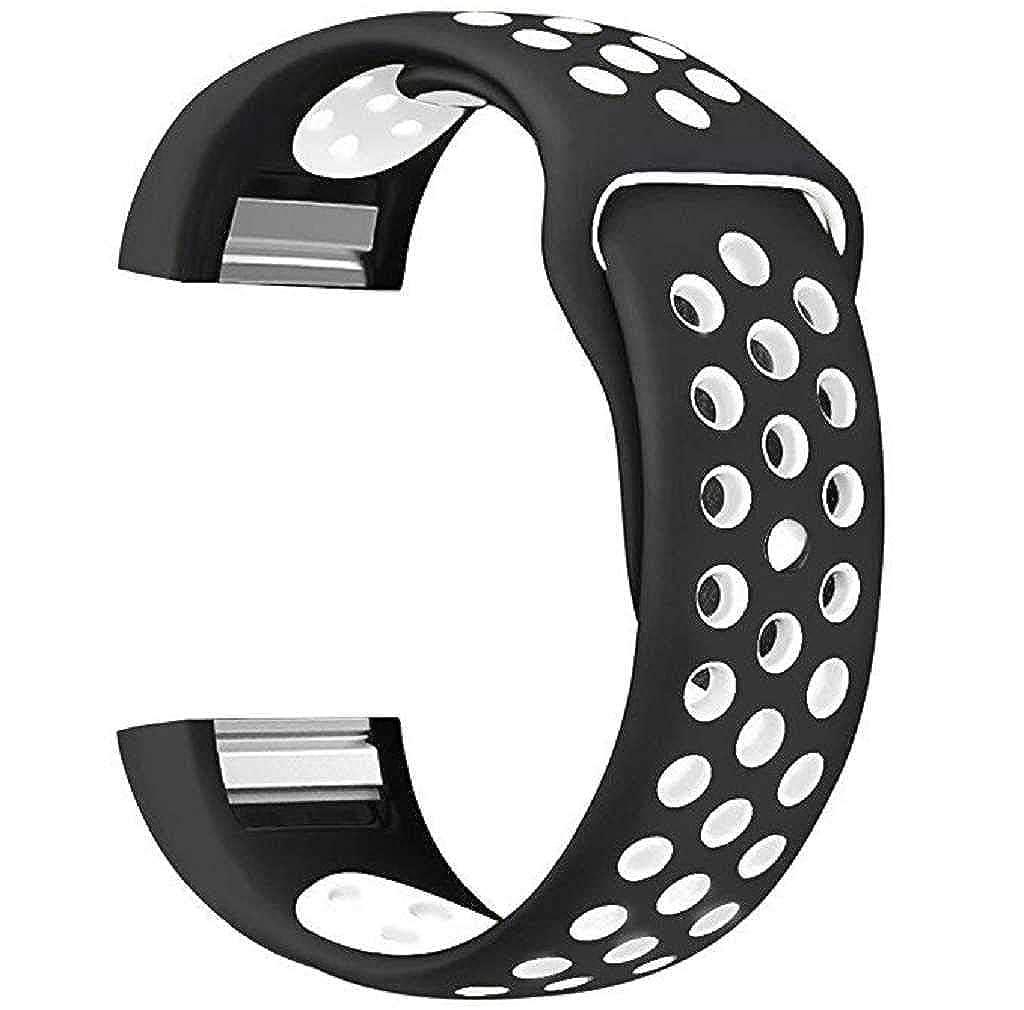 Scpink per Fitbit Charge 2 Cinghie Cinturino alla moda cinturino regolabile in morbido silicone di ricambio per fascia Fitbit Charge 2 Fitness