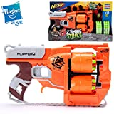 Toy, Fun, Game, Hasbro NERF countervailing launcher value loaded B3262 boys soft bullet gun outdoor toys, Children, Kids, Play