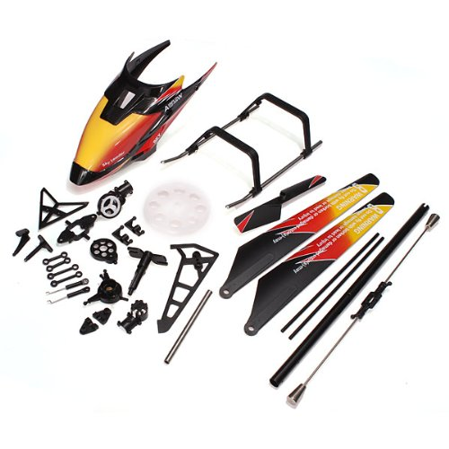 Quickbuying Rc helicopter spare parts kit WLtoys V913 RC Hel