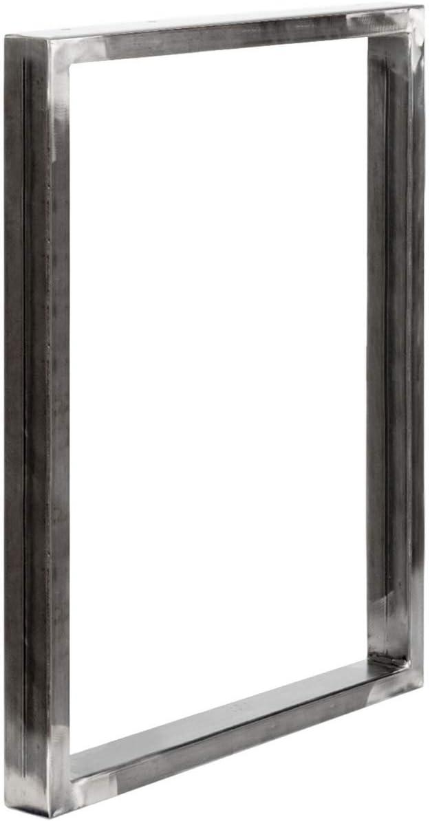 HLT-01-D-AA-7016 Gris Antracita forma de marco 30x43 cm 1 Pieza HOLZBRINK Patas de Mesa perfiles de acero 60x30 mm