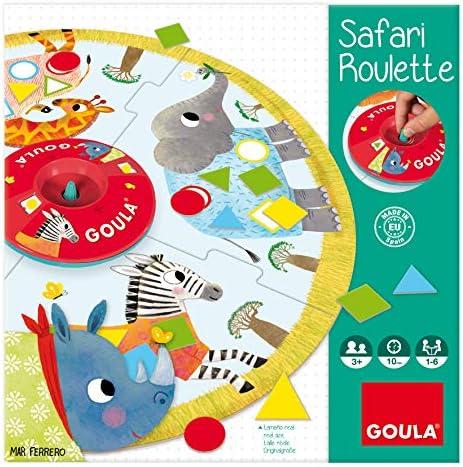 Goula - Safari roulette, (ref. 53156): Amazon.es: Juguetes y juegos