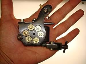 New Revolver Gun Bullet Tattoo Machine Liner Shader