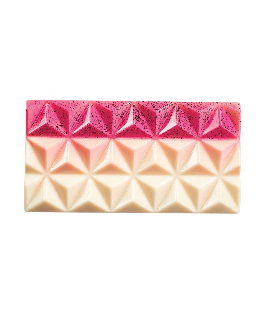 Martellato MA2009 3 Piece Polycarbonate Bar Pyramids Mould, 138 x 72 x 11 mm, Transparent Martellato_MA2009