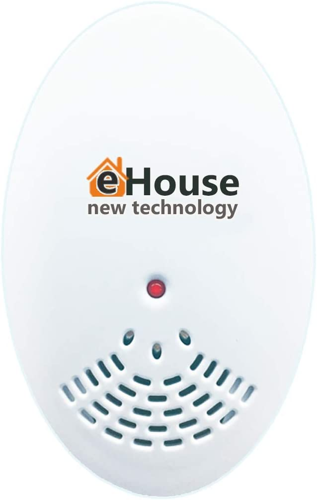 BH-1, 1Pack, Electronic Device - Best Plug in - Get Rid of - Rodents, Squirrels, Mice, Rats, Bats, Insects - Roaches, Spiders, Fleas, Bed Bugs, Flies, Ants, Mosquitos, Fruit Fly!