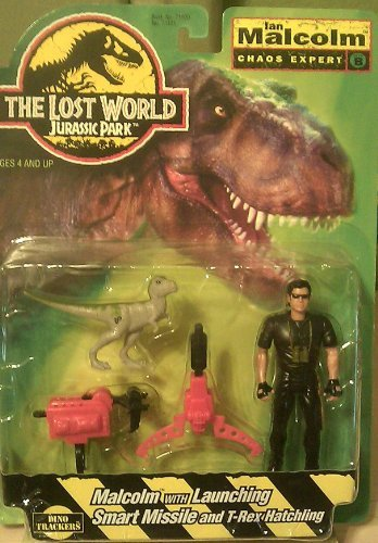The Lost WOrld Jurassic Park - Ian Malcom Chaos Expert