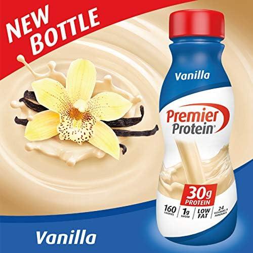 Premier Protein 30g Protein Shake, Vanilla, 11.5 Fl Oz Shake, (Pack of 12) 3