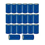 C Size 3.6V ER26500 9000mAh Primary Lithium Thionyl Chloride Batteries 20Pcs