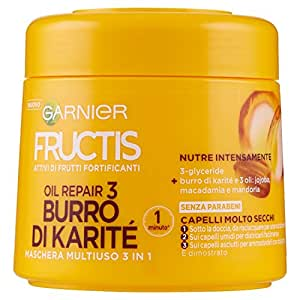 Mask For Hair Brittle And Lifeless Nutritious Nourish Repair 300 Ml by Fructis